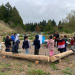Davis Bay Elementary Music Class Outdoors