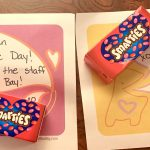 A card for every student on Valentines Day from All the Staff at Davis Bay!