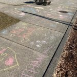 Walking on happiness at Cedar Grove Elementary