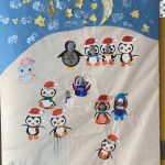 Gibsons Elementary Holiday Door Decorations