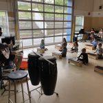 Gibsons Elementary enjoying Music Monday