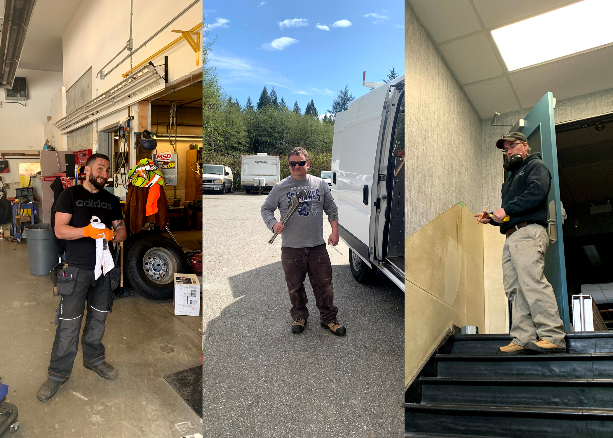 Thank you to our wonderful & dedicated maintenance staff!