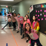 We love pink at Halfmoon Bay Elementary! We love to spread kindness everywhere and make kindness our mission!