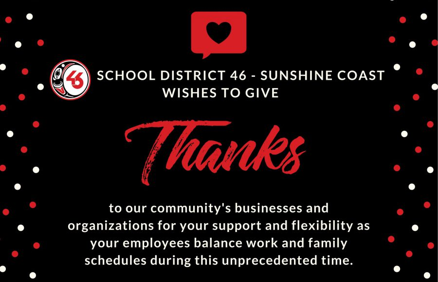 SD46 - Thank You Bus & Orgs
